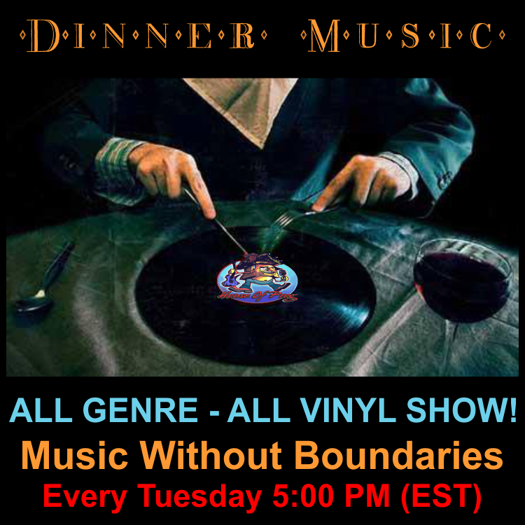 Dinner Music – All Vinyl with The Mad Platter