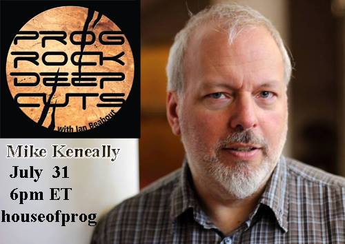 Mike Keneally interview on Deep Cuts with Ian Beabout this Sunday on House of Prog