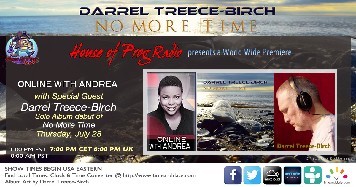 Darrel Treece-Birch ~ Online With Andrea