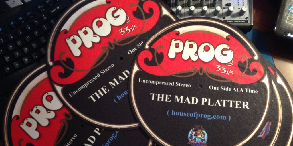 Prog at 33 1/3 All Vinly Show August 26th