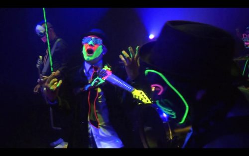 Joe Deninzon & Stratospheerius release video for 'Behind the Curtain'
