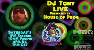 DJ TONY LIVE - Presented by House of Prog