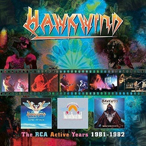 Hawkwind –RCA Years 3CD Box Set