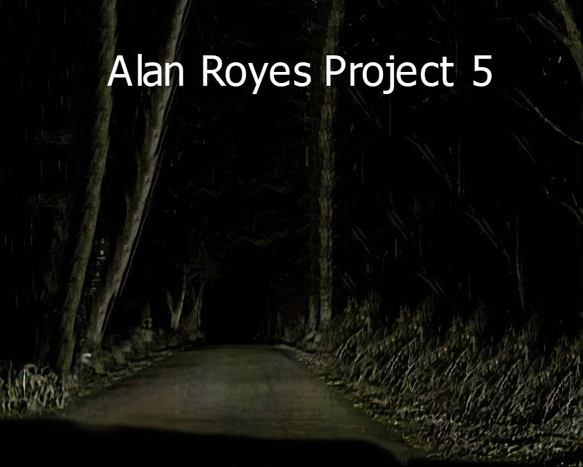 Alan Royes –AR Project 5 (2020)