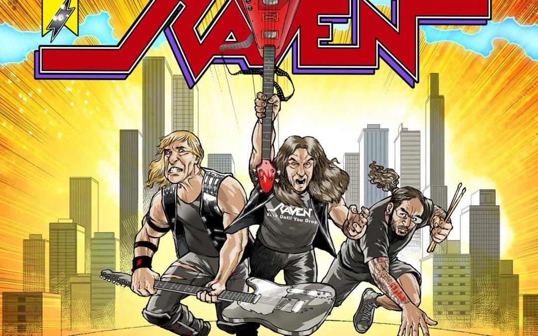 Raven: Metal City (2020)
